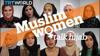 Muslim women talk hijab