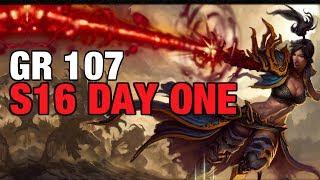 Day One GR107 Wizard Meteor Shower Season 16 Patch 2.6.4