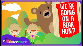 We're Going on a Bear Hunt | Popular Song for Preschoolers | The Kiboomers - YouTube