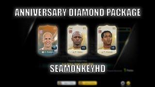OMG! PATRICK VIEIRA! ANNIVERSARY DIAMOND PACKAGE OPENING - FIFA ONLINE 3 강화성공! เปิดแพค!
