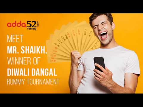 Meet Shaikh, Winner of Diwali Rummy Tournament