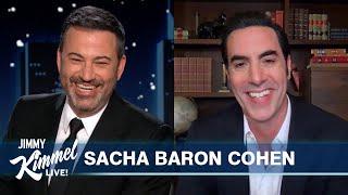 Sacha Baron Cohen on Borat Golden Globe Wins, Underwear Method Acting & The Trial of the Chicago 7
