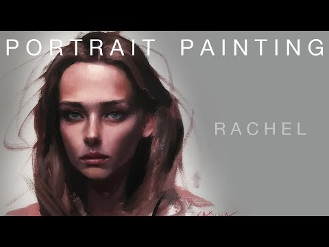 Portrait Painting: Rachel | Oil Painting Time Lapse