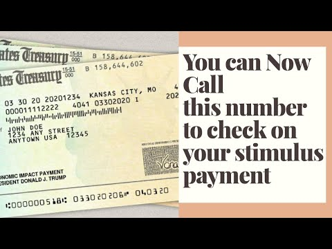STIMULUS CHECK UPDATE! NEW WAY TO CALL THE IRS ABOUT YOUR PAYMENT