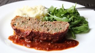 Prison-Style Meatloaf - Special Meatball Loaf Recipe
