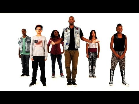How to Do the Cupid Shuffle | Kids Hip-Hop Moves