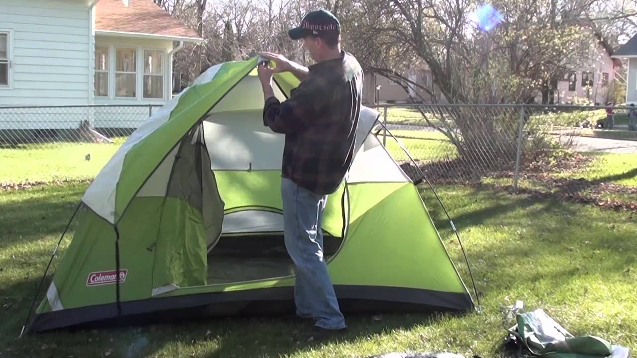 Campmate 6 Person Tent Instructions