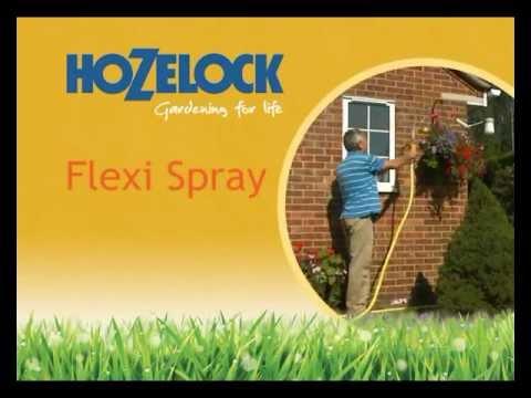 Hozelock Flexi spray 2683 with 4 spray patterns