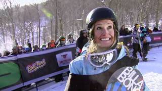Winter Dew Tour - Jamie Anderson - Winning Run, Snowboard Slopestyle - Killington 2011