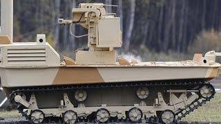 Nga thử nghiệm thành công robot chiến đấu