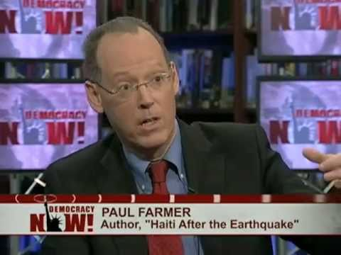 Dr. Paul Farmer Responds to Report Finding Clinton Foundation Provided Shoddy, Toxic Shelters