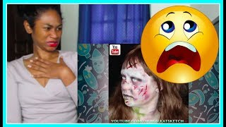Top 10 Easy Halloween Makeup Tutorial Scary Compilation 2018 | Reaction