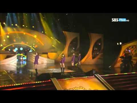 121130 Miss A - I Don't Need A Man @SBS Popular Culture Art Awards