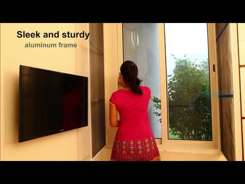 sleek openable Mosquito net window