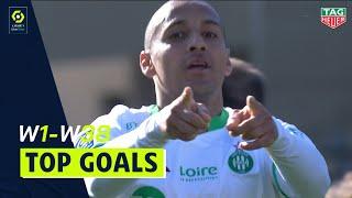 Top 10 Long range goals | season 2020-21 | Ligue 1 Uber Eats