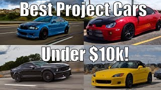 Best Project/Sports Cars Under $10k! | Affordable Sports Cars & Performance!