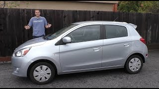 The Mitsubishi Mirage Is the Worst New Car You Can Buy