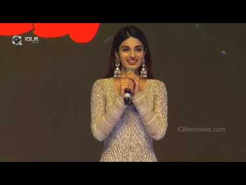 Nidhhi-Agerwal-speech---Savyasachi-audio-launch