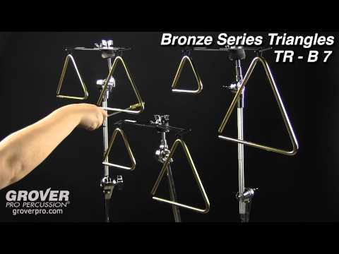 Grover Pro Bronze Series Triangles