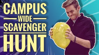 Campus-wide Scavenger Hunt | Creative Date Idea
