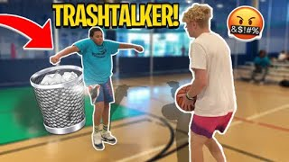 Trash Talking Kid Gets EXPOSED! 1V1 BASKETBALL!
