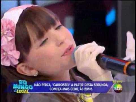 Baixar Larissa Manoela  que interpreta a Maria Joaquina canta Bom Dia - Domingo Legal 14/10/2012