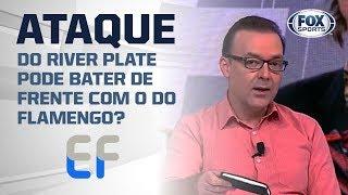 O ATAQUE DO RIVER PLATE PODE BATER DE FRENTE COM O DO FLAMENGO?