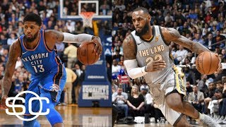 Lakers making room for Paul George and LeBron James with Cavaliers trade? | SportsCenter | ESPN