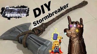 DIY Thor Stormbreaker From Avengers Endgame/ Infinity War!