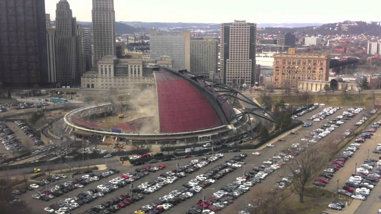 Mellon Arena Demolition 3 2 12 Youtube