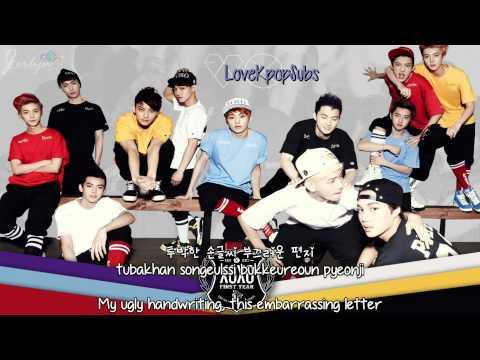 EXO - XOXO (korean version) [English subs + Romanization + Hangul] HD