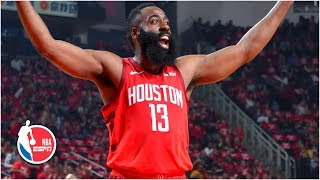 James Harden's triple-double powers Rockets to 2-0 series lead vs. the Jazz | NBA Highlights