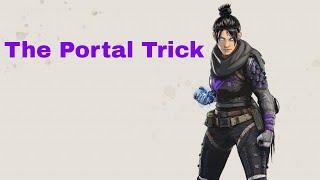 Whole squad defeat using Wraith's portal trick -Apex Legends
