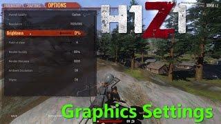 H1Z1 KOTK Big Update Part 2 - Graphics Settings
