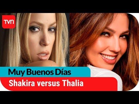 Shakira versus Thalia | Muy buenos días