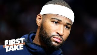 The Lakers might be better off without DeMarcus Cousins – Domonique Foxworth | First Take