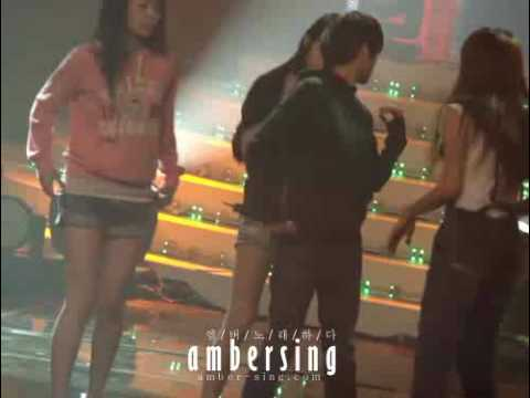 [FANCAM] f(x) - Intro - Rehearsal  (Music Bank 090911)