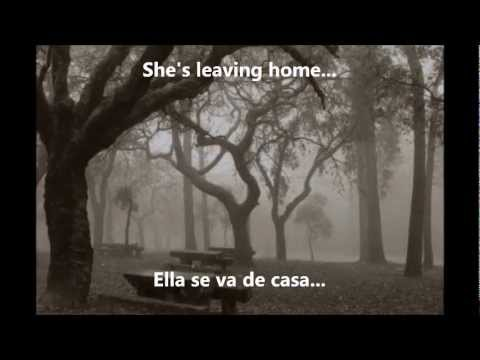 The Beatles - She's Leaving Home (Subtitulada Inglés/Español)