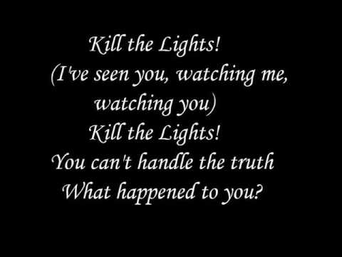Kill the lights - Britney Spears - Lyrics