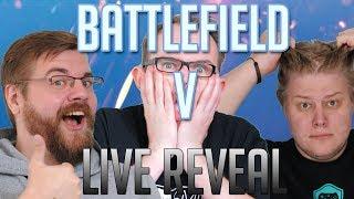 Battlefield V live reveal mit PietSmiet