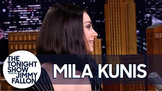 Mila Kunis Spent Her Honeymoon in an RV Park with Ashton Kutcher's Parents