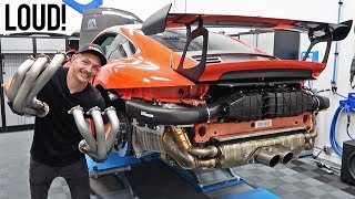 Installing Headers & Exhaust on my 991.2 GT3RS