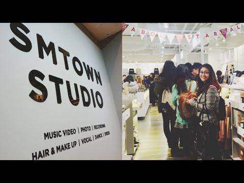 SM Town at COEX Artium!