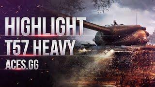T57 Heavy тащит на Южном берегу!