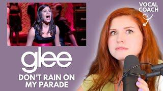 GLEE I Don't Rain on My Parade I Vocal coach reacts!