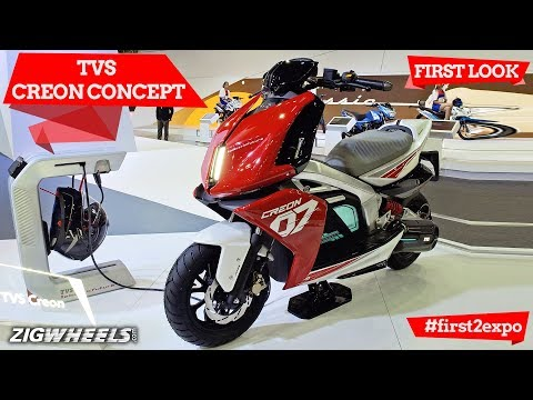 TVS Creon Concept At Auto Expo 2018:First Look