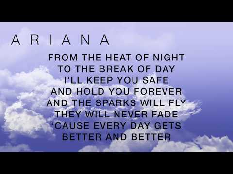 OVER AND OVER AGAIN NATHAN SYKES FT. ARIANA GRANDE (LYRICS)