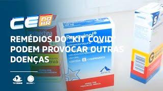 """Remédios do """"kit covid"""" podem provocar outras doenças"""