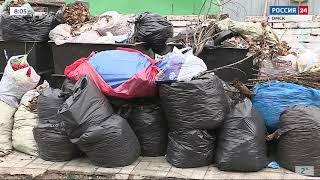Омские кладбища утопают в мусоре