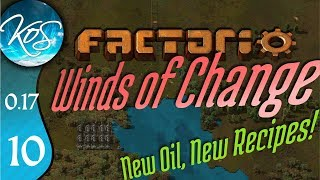 Factorio 0.17 Ep 10: MINING OIL - Winds of Change - Tutorial Let's Play, Gameplay